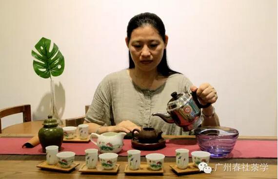 范式茶艺表演:范增平乌龙茶艺三段十八步|高级茶艺师培训