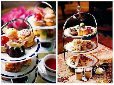 英式下午茶三层点心瓷盘 广州茶艺师培训