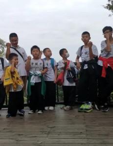 禅和武学,让孩子拥有绽放活力、追逐梦想的强健体魄—-记广州禅和武学中心春社教学分点白云山一日游